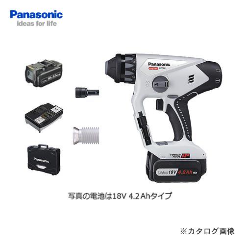 【お買い得】パナソニック Panasonic EZ78A1LJ2G-H Dual 18V 5.0Ah 充電マルチハンマードリル (グレー)