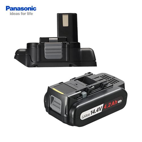 【お買い得】パナソニック Panasonic EZ9740ST 12V→14.4V変換 電池アダプタ EZ9740 + 電池パック EZ9L45 セット