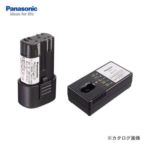パナソニック Panasonic 7.2V リチウムイオン電池+急速充電器セット EZ9L21ST