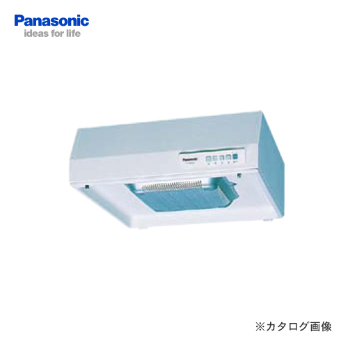 【納期約2週間】パナソニック Panasonic 浅形レンジフード丸吐出 FY-60HJR3M-W