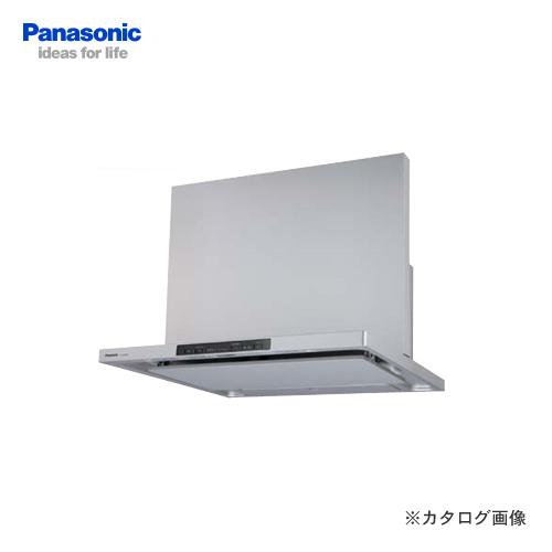 【直送品】【納期約2週間】パナソニック Panasonic エコナビ搭載フラット形レンジフード FY-90DED1-S