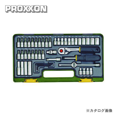 プロクソン PROXXON 49点・メカニックセット 1/4 No.82280