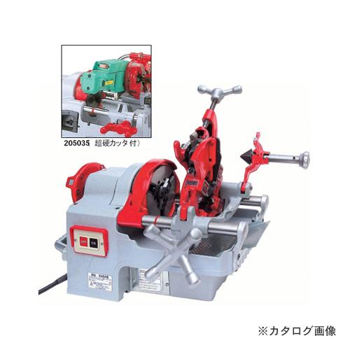 【運賃見積り】【直送品】レッキス工業 REX パイプマシン 超硬カッタ付 NS40AIII-TC 207335