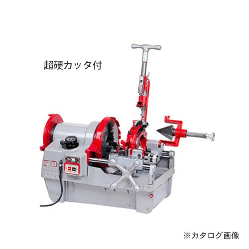 【運賃見積り】【直送品】レッキス工業 REX パイプマシン N100A-TC 超硬カッタ付 35A035