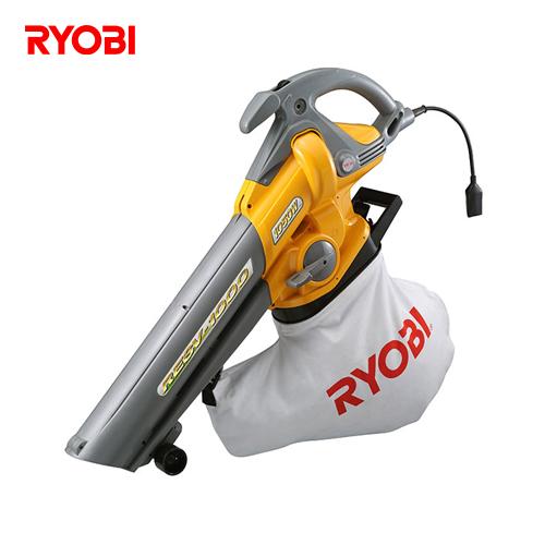 【直送品】リョービ RYOBI ブロアバキューム 2スピード切替 アジャスタブルローラー付 RESV-1000(697200A)