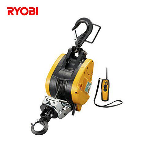 リョービ RYOBI 電動 リモコン ウインチ WI-196RC