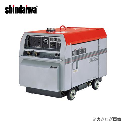 【運賃見積り】【直送品】新ダイワ工業 ディーゼルエンジン溶接機 DGW201M