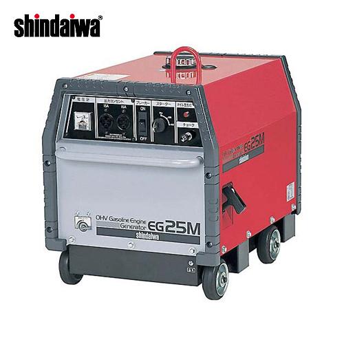 产品直接从大和工程行业汽油引擎发电机 60 Hz (超低噪音) EG25M-EB