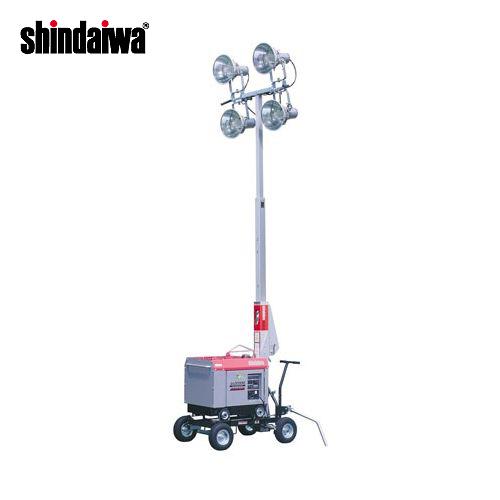 【運賃見積り】【直送品】新ダイワ工業 プロジェクタータイプ投光機(60Hz) SL433IDG-B