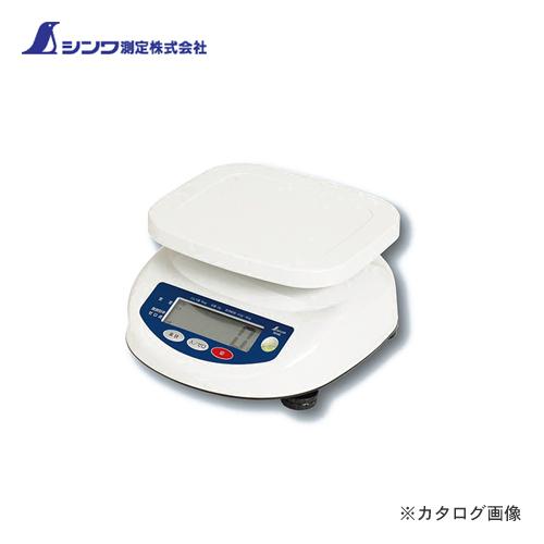 シンワ測定 デジタル上皿はかり 6kg取引証明以外用 70105