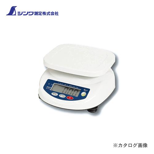シンワ測定 デジタル上皿はかり 30kg取引証明以外用 70107