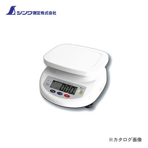 シンワ測定 デジタル上皿はかり 15kg取引証明用 70193