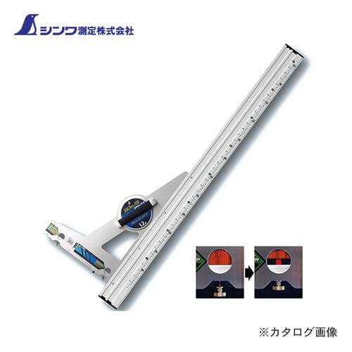 SHINWA measurements round nokogaid ruler El angle adjustment 1.2 m with scale angle adjustment with 77374