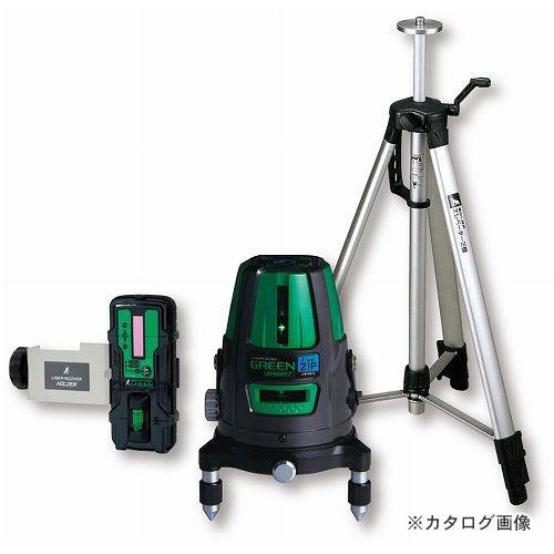 シンワ測定 レーザーロボ グリーン Neo21P BRIGHT 受光器・三脚セット 78283