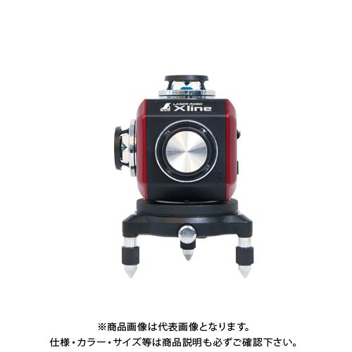 シンワ測定 レーザーロボ X line レッド フルライン・地墨クロス 71607