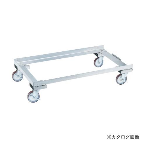 【直送品】サカエ SAKAE ステンレス保管ユニット オプション アジャスターベース E-SUCD4
