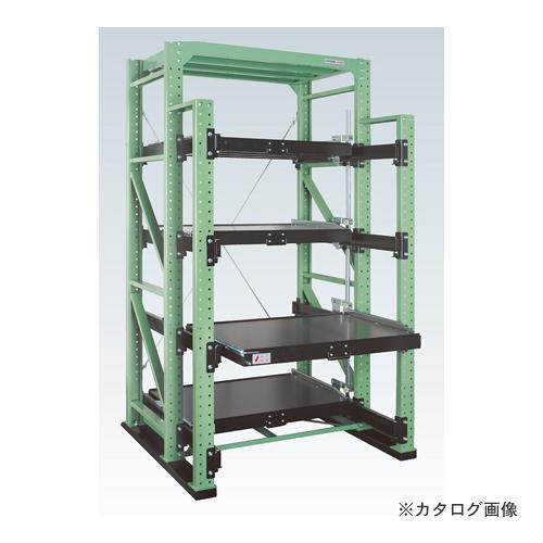 【運賃見積り】【直送品】サカエ SAKAE スライドラック フルストロークタイプ FSR10-2404T