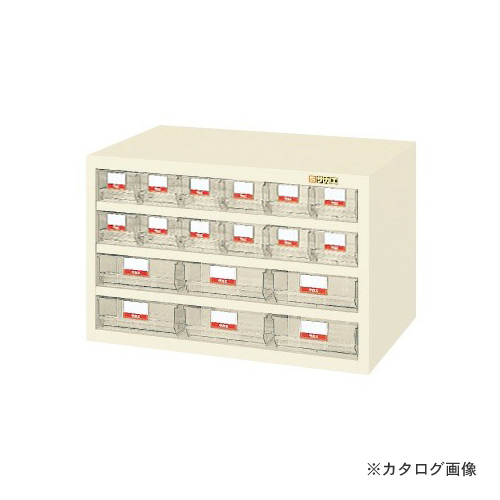【直送品】サカエ SAKAE ハニーケース・樹脂ボックス HFS-126TLI