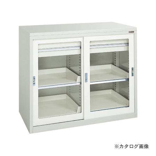【直送品】サカエ SAKAE キャビネット保管庫・引戸式タイプ(ボールスライドレール) K10-H121ABGY
