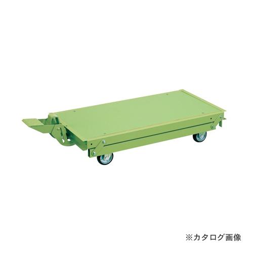 【直送品】サカエ SAKAE 作業台オプションペダル昇降台車 KTW-187DPS