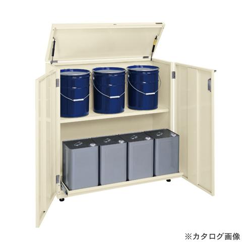 【直送品】サカエ SAKAE 一斗缶保管庫(スチールタイプ) KU-ITKB