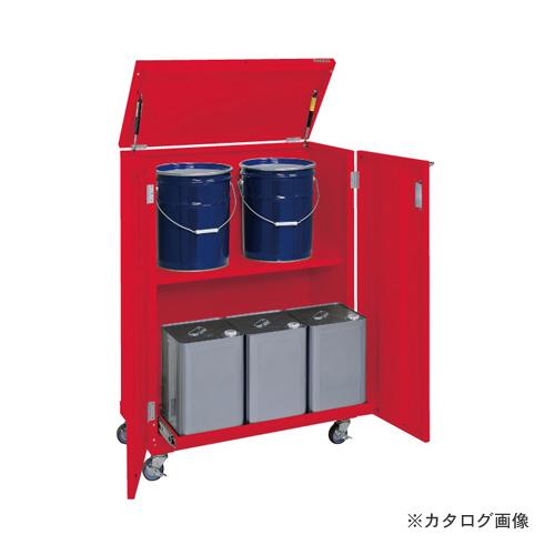 【直送品】サカエ SAKAE 一斗缶保管庫 KU-ITKCR