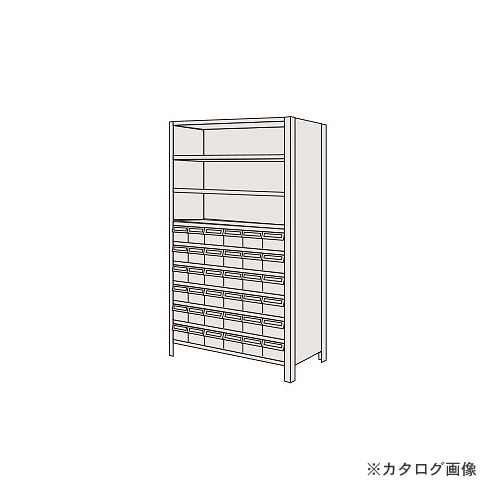 【運賃見積り】【直送品】サカエ SAKAE 物品棚LEK型樹脂ボックス LEK1120-30T