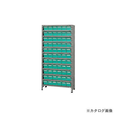 【運賃見積り】【直送品】サカエ SAKAE 物品棚LEK型樹脂ボックス LEK1122-66T