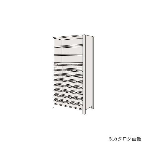 【運賃見積り】【直送品】サカエ SAKAE 物品棚LEK型樹脂ボックス LEK2112-48T