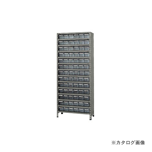 【運賃見積り】【直送品】サカエ SAKAE 物品棚LEK型樹脂ボックス LEK2114-78T
