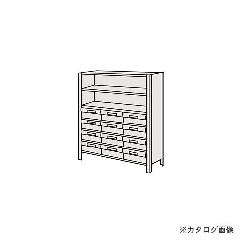 【運賃見積り】【直送品】サカエ SAKAE 物品棚LEK型樹脂ボックス LEK8117-12T