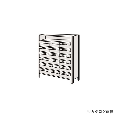 【運賃見積り】【直送品】サカエ SAKAE 物品棚LEK型樹脂ボックス LEK8118-18T