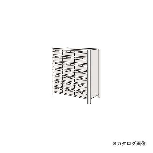 【運賃見積り】【直送品】サカエ SAKAE 物品棚LEK型樹脂ボックス LEK8118-21T