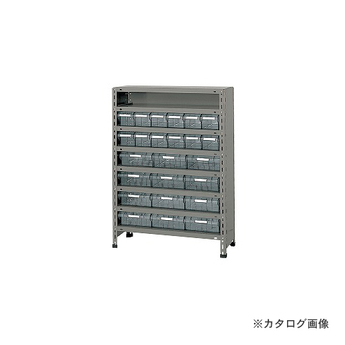 【運賃見積り】【直送品】サカエ SAKAE 物品棚LEK型樹脂ボックス LEK8118-24T
