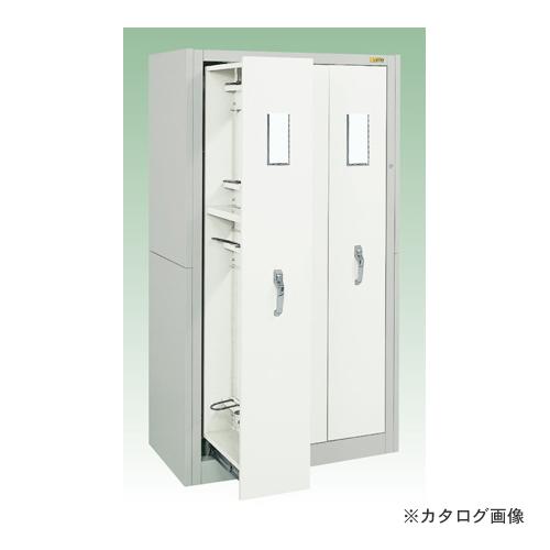 【直送品】サカエ SAKAE キャビネット保管システム・ハイグレード・ボールスライドレール仕様 NB-18LVTGY