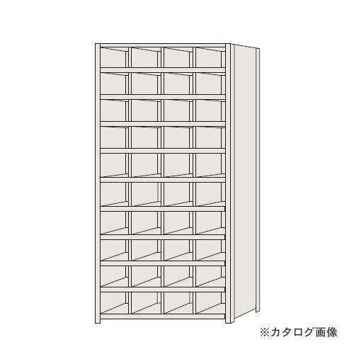【運賃見積り】【直送品】サカエ SAKAE 区分棚 フラットタイプ NCA110-410