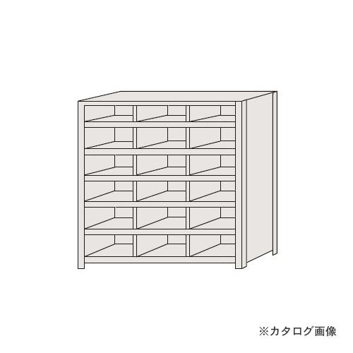 【運賃見積り】【直送品】サカエ SAKAE 区分棚 フラットタイプ NCA711-306