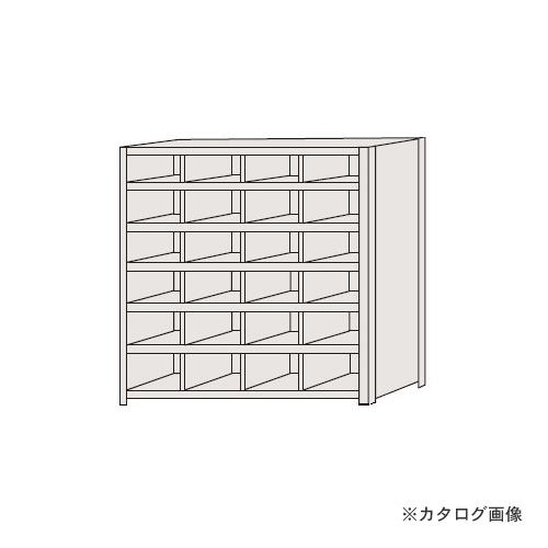 【運賃見積り】【直送品】サカエ SAKAE 区分棚 フラットタイプ NCA710-406