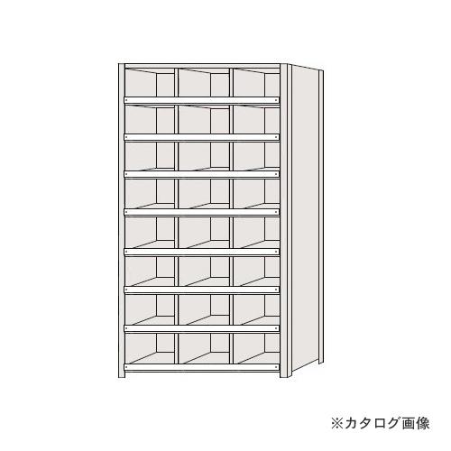 【運賃見積り】【直送品】サカエ SAKAE 区分棚 コボレ止め付タイプ NCC111-308