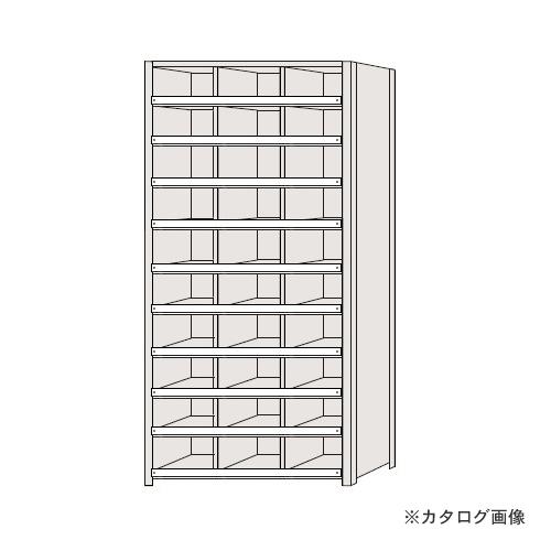 【運賃見積り】【直送品】サカエ SAKAE 区分棚 コボレ止め付タイプ NCC110-310