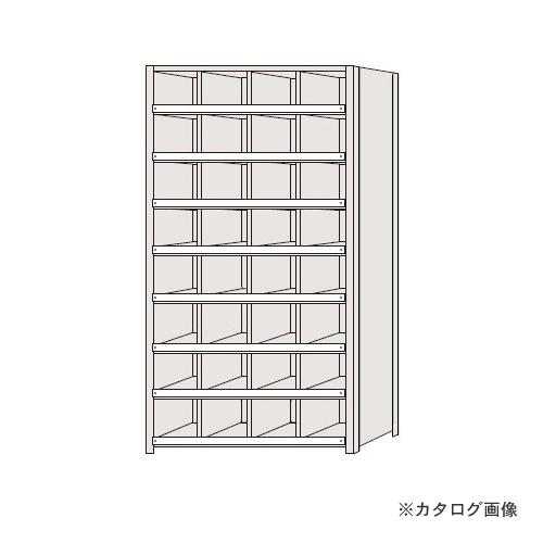 【運賃見積り】【直送品】サカエ SAKAE 区分棚 コボレ止め付タイプ NCC110-408