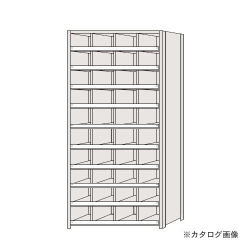 【運賃見積り】【直送品】サカエ SAKAE 区分棚 コボレ止め付タイプ NCC111-410