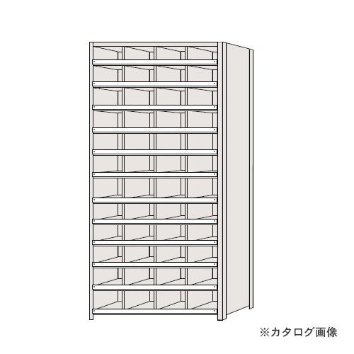 【運賃見積り】【直送品】サカエ SAKAE 区分棚 コボレ止め付タイプ NCC111-412