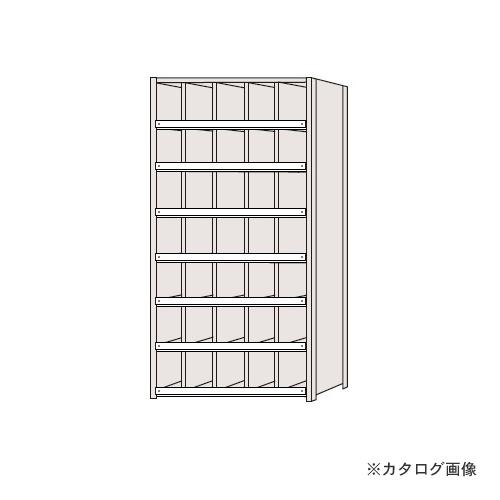 【運賃見積り】【直送品】サカエ SAKAE 区分棚 コボレ止め付タイプ NCC111-507