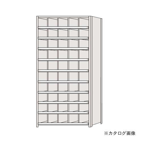 【運賃見積り】【直送品】サカエ SAKAE 区分棚 コボレ止め付タイプ NCC110-510