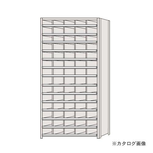 【運賃見積り】【直送品】サカエ SAKAE 区分棚 コボレ止め付タイプ NCC111-514