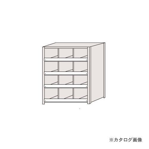 【運賃見積り】【直送品】サカエ SAKAE 区分棚 コボレ止め付タイプ NCC711-304