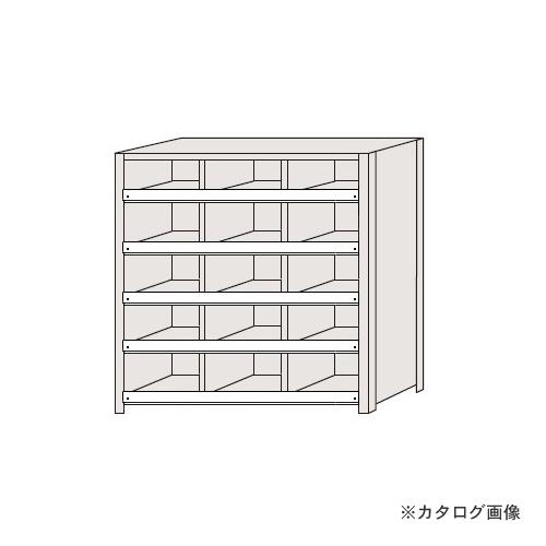 【運賃見積り】【直送品】サカエ SAKAE 区分棚 コボレ止め付タイプ NCC711-305