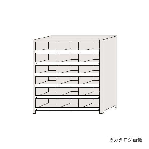 【運賃見積り】【直送品】サカエ SAKAE 区分棚 コボレ止め付タイプ NCC711-306