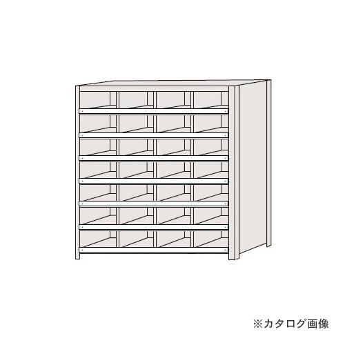 【運賃見積り】【直送品】サカエ SAKAE 区分棚 コボレ止め付タイプ NCC710-407